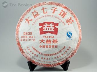 Шу пуэр Мэнхай Да И 0532 (201), 2012г, 357гр.