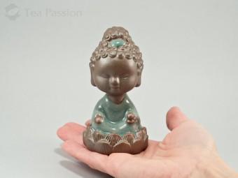 """Чайная фигурка """"Будда, медитирующий на лотосе"""""""