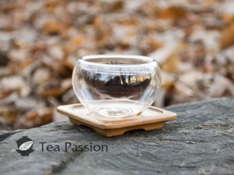 Чашка стекляная с двойным стеклом