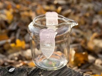 Чахай (чаша справедливости) стекляный с лепестками