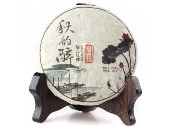 """Шэн пуэр Шу Дай Цзы """"Цзинь Май"""", 2012г, 125гр."""