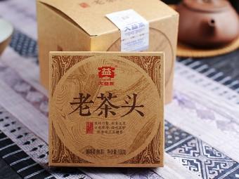 """Мэнхай Да И Лао Ча Тоу """"Старые Чайные Головы"""", 2014г, 100гр."""